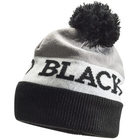 Black Diamond Tom Pom Beanie Black - White - Nickel